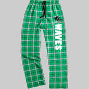 LogoWAVES - boxercraft F20 Team Pride Flannel Pant with Taping